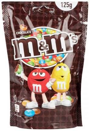 Драже M&M's с молочным шоколадом 125 г