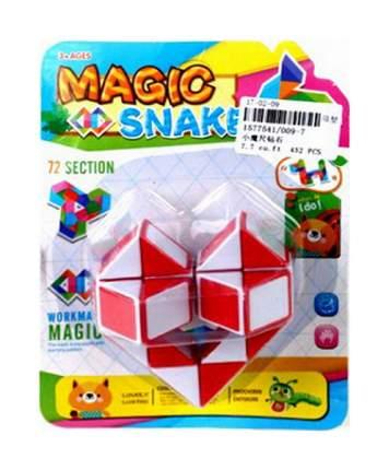 Головоломка Shantou Gepai Логическая игра Magic Snake Змейка 72 секции