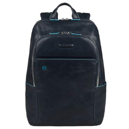 Рюкзак кожаный Piquadro Blue Square кожаный синий