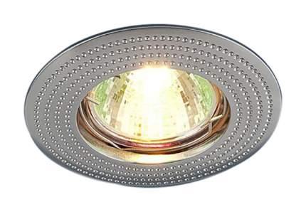 Встраиваемый точечный светильник Elektrostandard 601 MR16 CH a030749 Хром