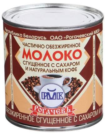 Молоко Рогачевъ сгущенное с сахаром и натуральным кофе 380 г
