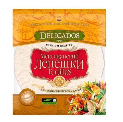 Лепешки Delicados пшеничные 6 штук 400 г