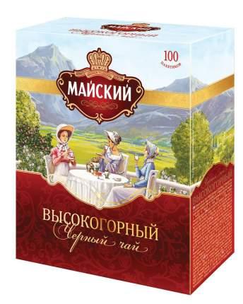 Чай черный Майский высокогорный 100 пакетиков