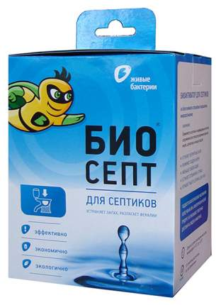 Биоактиватор для биотуалета Биосепт 600 г 24 дозы
