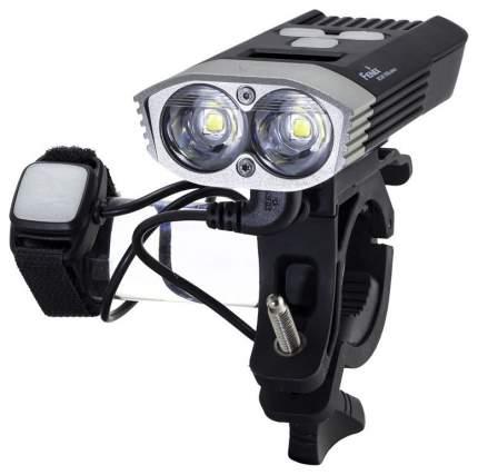 Велосипедный фонарь передний Fenix BC30R серебристый/черный
