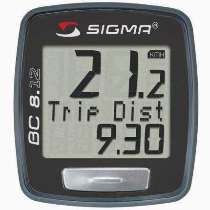 Велокомпьютер Sigma BC 8.12 черный