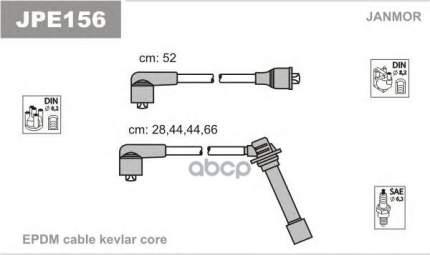 Комплект проводов зажигания JANMOR JPE156