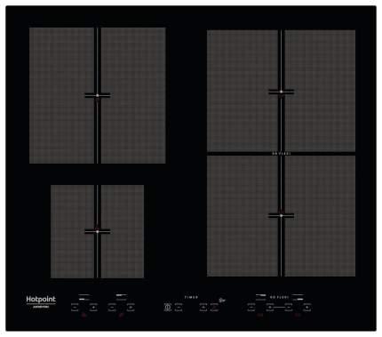 Встраиваемая варочная панель индукционная Hotpoint-Ariston KIT 641 F B Black