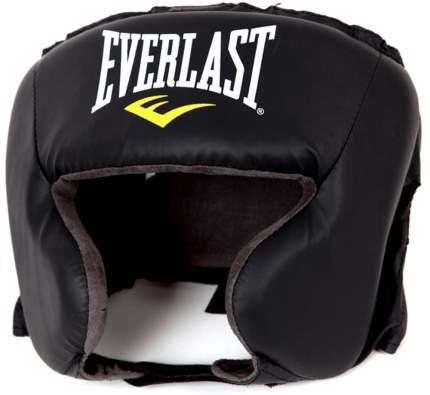 Боксерский шлем Everlast Durahide 4022U черный One Size