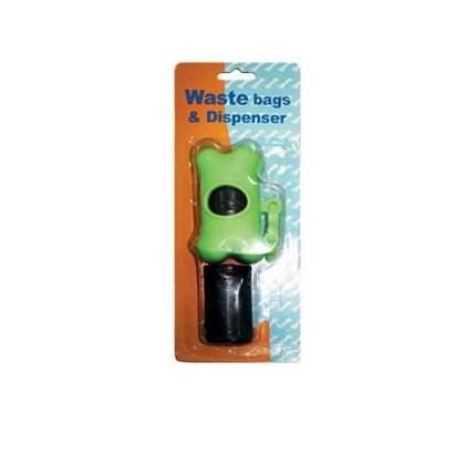 Футляр-брелок для гигиенических пакетов для собак Out!, зеленый