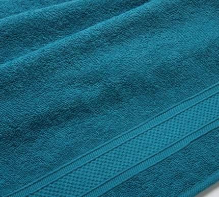 Полотенце махровое с бордюром (морская волна) 40х70