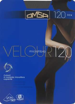 Колготки Omsa VELOUR 120 /  Grigio fumo  (Светло-серый) / 4 (L)