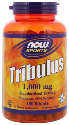Бустер тестостерона NOW Tribulus 180 табл. нейтральный