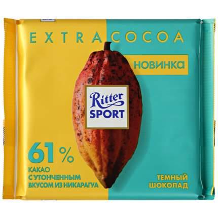 Шоколад темный Ritter Sport Никарагуа 61% какао100 г