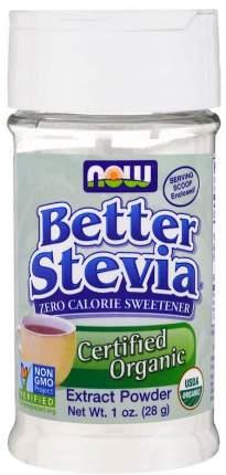 Стевия Now better stevia 28 г