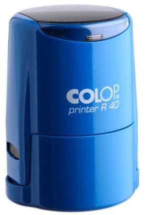 Оснастка для печати Colop Printer R40 Cover. Цвет корпуса: синий.