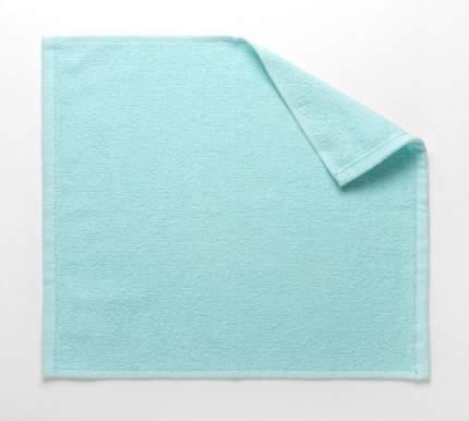 Полотенце махровое кухонное (светло-голубое) 30х30