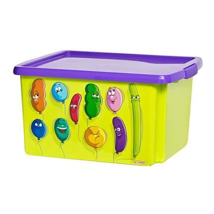 Ящик для игрушек ШАРИКИ 460х390х480мм 30