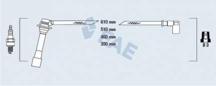 Комплект проводов зажигания FAE 83261