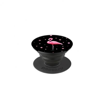 Держатель для телефона POPSO Фламинго в ночи Purple
