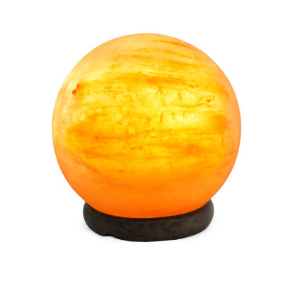 Соляная лампа Сфера 3-4кг с диммером