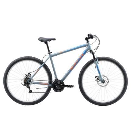 """Велосипед Black One Onix 29 D 2019 20"""" серый/оранжевый/голубой"""