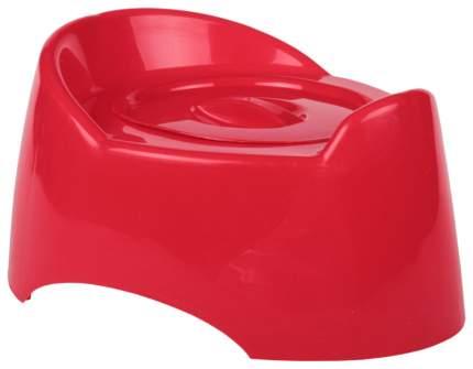 Горшок детский Альтернатива «Малышок» с крышкой 1527М Красный