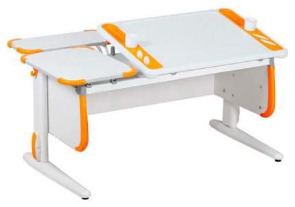 Парта Дэми Techno СУТ-31-01 с задней приставкой 04957-2 Белый/Оранжевый