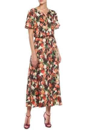 Платье женское МадаМ Т коричневое 56