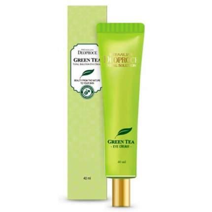 Крем для век Deoproce Premium Green Tea Total Solution Eye Cream 40 мл