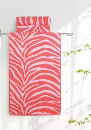 Полотенце универсальное Aquarelle белый, красный