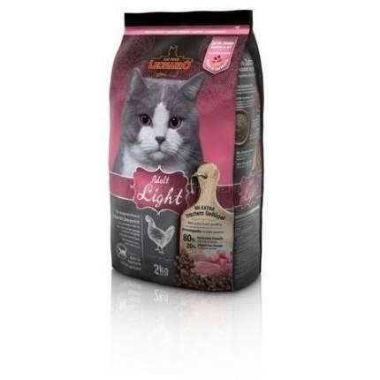 Сухой корм для кошек Leonardo Light, облегченный, курица, 2кг