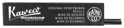 Грифели для карандашей Kaweco, цвет: чёрный, HB, 0,9 мм, 12 штук