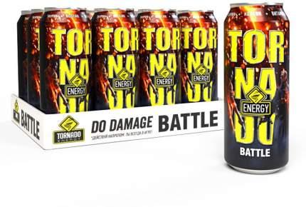 Энергетический  напиток  Tornado Energy Battle 12 шт Х 450 мл