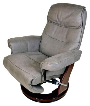 Кресло для гостиной Duorest 103х82х150 см, коричневый/серый