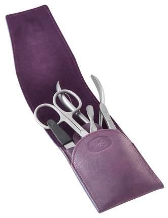 Маникюрный набор Dovo Solingen 5 пр, фиолетовый