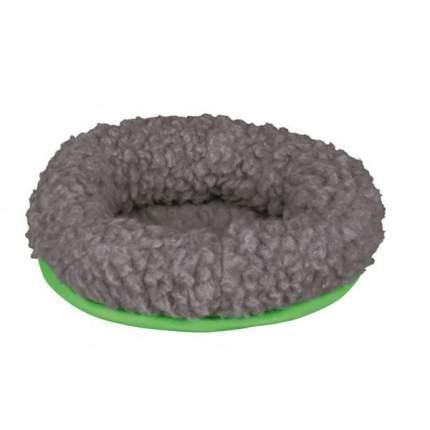 Лежанка для грызунов TRIXIE, искусственный мех, нейлон, зеленый, серый, 16*13 см