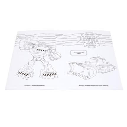 """Раскраска Умка """"Трансформеры: Рисуй по точкам и раскрашивай"""" 177349"""