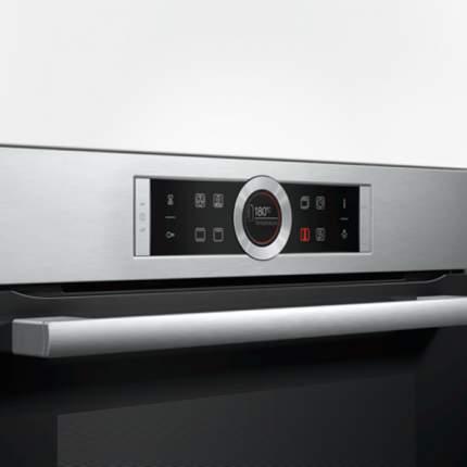 Встраиваемый электрический духовой шкаф Bosch HBG634HS1 Silver
