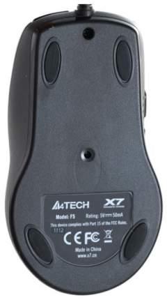 Игровая мышь A4Tech V-Track F5 Black