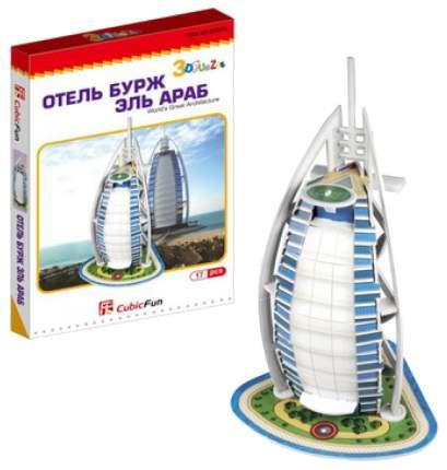 Пазл Cubic Fun 3D S3007 Отель Бурж эль Араб ОАЭ