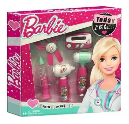 Игровой набор юного доктора barbie компактный D122A