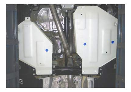 Защита бензобака RIVAL для Audi (333.0332.1)