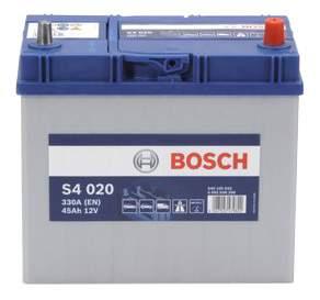 Аккумулятор автомобильный автомобильный Bosch S4 Silver 0 092 S40 200 45 Ач