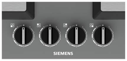 Встраиваемая варочная панель газовая Siemens EP6A8HB20 Grey