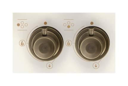 Встраиваемая варочная панель газовая Korting HG 6115 CTRI White