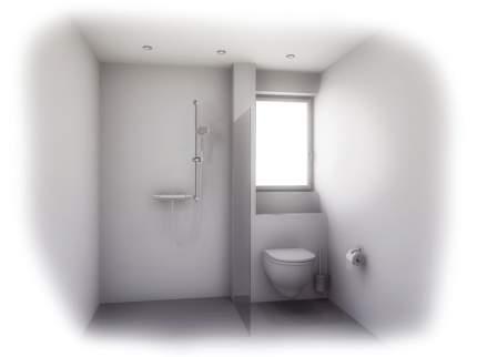 Туалетный ершик GROHE Essentials в комплекте, хром