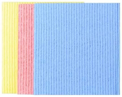 Салфетка для уборки Vileda Губчатая 17,5x21 см 6 шт