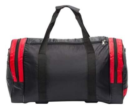 Дорожная сумка Polar П02 черная/красная 47 x 30 x 24