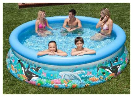Бассейн надувной INTEX Easy Set Pool 54904